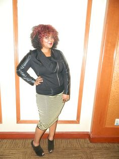 Personal Style: Marie Denee The Curvy Fashionista in Vince Camuto
