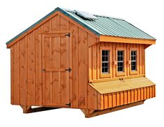 Backyard Chicken Product: Chicken Coops - Craftsman 7x12 (up to 40 chickens) - from My Pet Chicken