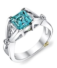 Adding a colored gemstone ring to your jewelry collection really adds a pop of color!
