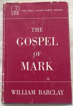 Holy bible revised standard version rsv genuine leather 1952 the gospel of mark by william barclay 1956 hb daily study bible series 390 pgs fandeluxe Choice Image