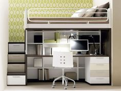 Enjoyable sleeping experience with loft beds for adults | LiRoom for Home Improvement Ideas