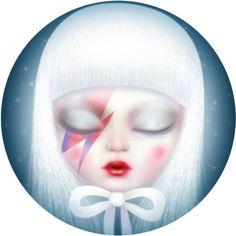 Marie Blanco Hendrickx aka Mijn Schatje - (David Bowie Eye):