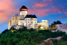 Trencin Castle, Tremcin, Slovakia