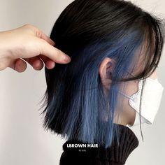 Two Color Hair, Hair Color Streaks, Hair Dye Colors, Short Wavy Hair, Girl Short Hair, Under Hair Dye, Hair Color Underneath, Peekaboo Hair, Shot Hair Styles
