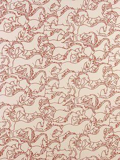 """Florence Broadhurst """"Horses Stampede"""""""
