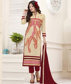 Buy online sarees, salwar kameez and designer kurtis with pure quality fabric and at manufacturer rates. Pakistani Salwar Kameez, Work Tops, Indian Designer Wear, Party Wear, Casual Wear, Fashion Dresses, Beige, Pure Products, Suits