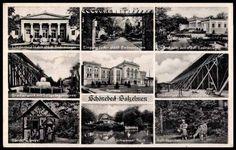 schönebeck salzelmen  | Ansichtskarte / Postkarte Bad Salzelmen Schönebeck, Gradierwerk ...