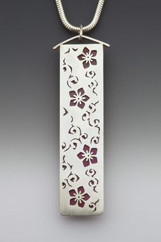 Cherry Blossom Necklace.  Sarah McCulloch