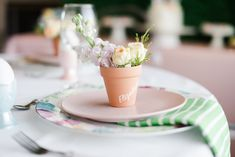 Read More: https://www.stylemepretty.com/living/2018/03/23/floral-infused-easter-brunch/