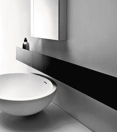 Spoon XL, 2005 - Benedini Associati   The Spoon XL washbasin features generous measurements while retaining a minimalist yet enveloping ele...