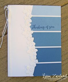 Paint swatch papers meet the