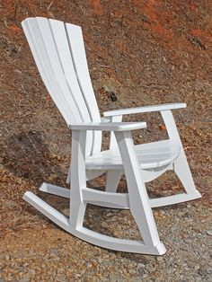 From the Old South, to Cape Cod, all the way to the West Coast, nothing like a classic white rocking chair.