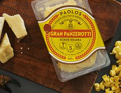 Beautiful classic packaging reminiscent of vintage Italian labels (although product is not Italian).