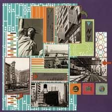 new york scrapbook pages - Google Search