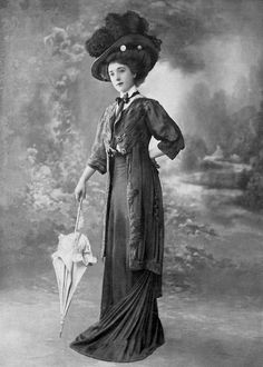 Antique & Beautiful — mortisia: Lovely Hats and Gowns in Les Modes...