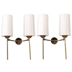 Pair of Articulated Sconces | 1stdibs.com
