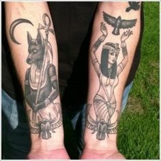 egyptian tattoos 38