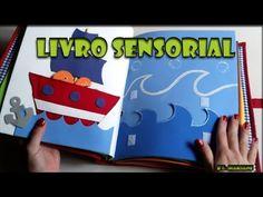 Livro sensorial infantil para Menino - YouTube