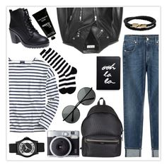 """Free"" by hurinita ❤ liked on Polyvore featuring Kate Spade, 7 For All Mankind, Yves Saint Laurent, Saint James, Wet Seal, Sock It To Me, TokyoMilk, Mulberry, Marc by Marc Jacobs and allblack"