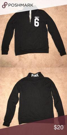 Victoria's Secret sweatshirt Victoria's Secret half-zip sweatshirt PINK Victoria's Secret Tops Sweatshirts & Hoodies