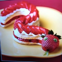 Strawberry snake. Yum.
