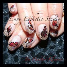 #nails #nailart #fallnails #gelnails