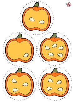 Pumpkin Number Match Game | TeachersMag.com