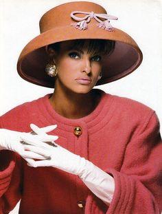 """Candy Colors"", Vogue Italia, September 1990. Photographer: Patrick Demarchelier. Model: Linda Evangelista"