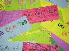 SOHCAHTOA Trig Foldable with downloadable PDF instruction sheet | insPire Math