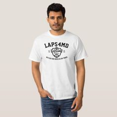 LAPS4MD Black & White T-Shirt - black and white gifts unique special b&w style
