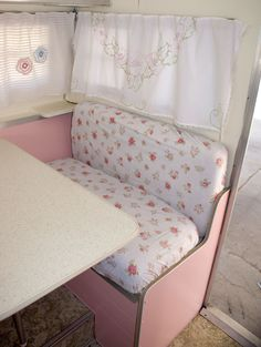 Vintage Me-Hemmed in Prayer: It's Almost Done...Vintage Trailer Makeover