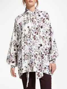 Floral Tunic, Rarity, John Lewis, Confetti, New Fashion, Kimono Top, Tunic Tops, Modern, Trendy Tree