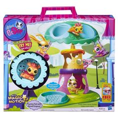 Littlest Pet Shop Playtime Park with Russell Ferguson Playset