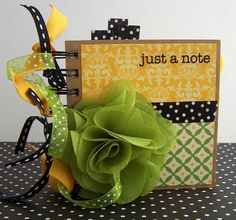Just a Note - Altered Notebook | Flickr - Photo Sharing!