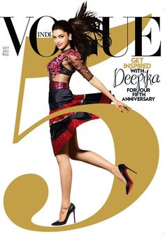 Deepika Padukone - Vogue Magazine Cover [India]