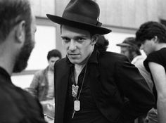 Simonon. This man can wear a hat. http://www.tensionwire.com/guided/punk-style-icons/paul-simonon-the-clash-look.html