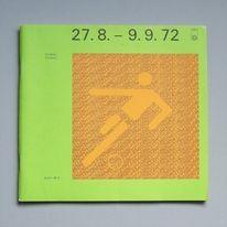 Otl Aicher 1972 Munich Olympics - Programmes