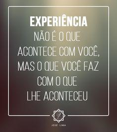 Frase Experiência
