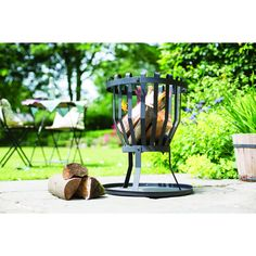 Take the #chill out of the #summer evening #breeze with this firebasket. An attractive addition to any #outdoor #space and means you can enjoy the evenings for that little bit longer.