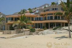 Los Cabos, BS: This 5 bedroom beachfront home in Cabo San Lucas offers the   best in terms of beach, sun, privacy, and tranquility yet is   only a mile from Cabo San... Vacation Rental