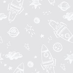 Rocket Man Wallpaper (Peel & Stick)