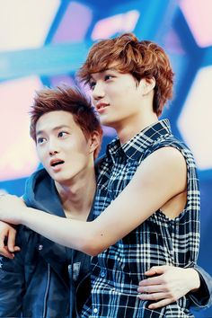 Suho and Kai - EXO