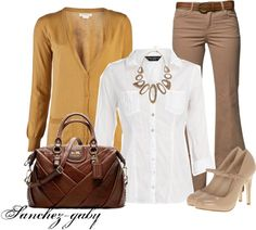 """""""Yellow Cardigan"""" by sanchez-gaby on Polyvore"""