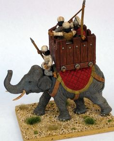 vectis toy soldier war elephant - Google Search
