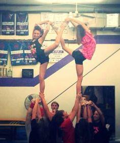 Cheerleading is MY sport — ca-chrisloving: Infinity ♡♡ Im back spotting!!