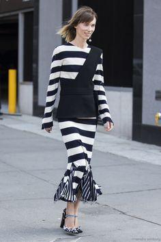 NYFW Street Style ... via; MFAMB