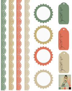 Card and Scrapbook Embellishments by Glenda