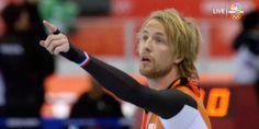 Met miniem verschil winnen. Michel Mulder is de gouden medaille winnaar op de 500 meter na een dramatische apotheose. Chapeau!
