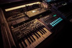 MATRIXSYNTH: Solar Bears guide us through their analog synth-he...