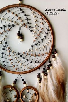 "Buy or order Dream Catcher ""Concentration … – Famous Last Words Dream Catcher Patterns, Dream Catcher Mandala, Dream Catcher Art, Sun Catcher, Dream Catcher Mobile, Diy Dream Catcher Tutorial, Beautiful Dream Catchers, Crochet Dreamcatcher, Creation Deco"